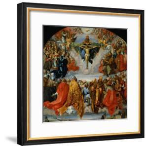 The Adoration of the Trinity by Albrecht Dürer