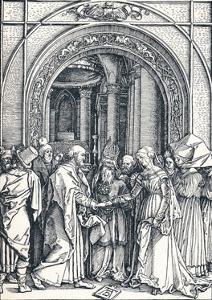 The Betrothal of the Virgin, 1506 by Albrecht Dürer