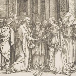 "The Betrothal of the Virgin, from the Series ""The Life of the Virgin"", C.1504 by Albrecht Dürer"
