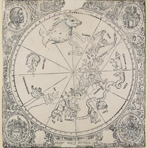 The Celestial Chart of the Southern Hemisphere by Albrecht Dürer