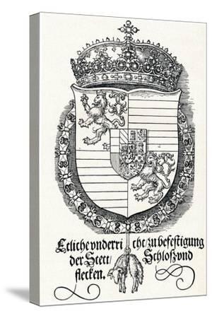 The Coat of Arms of Ferdinand I, King of Hungary and Bohemia, 1527