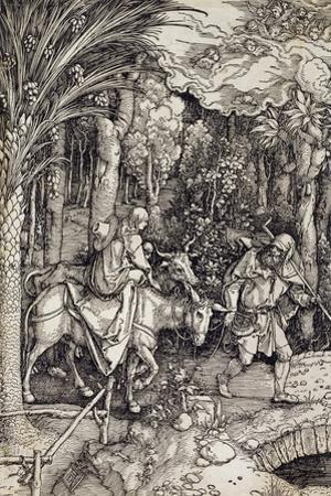 The Flight into Egypt, C.1500
