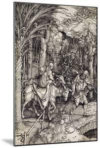 The Flight into Egypt, C.1500 by Albrecht Dürer