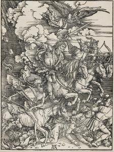 The Four Horsemen, 1496-1498 by Albrecht Dürer