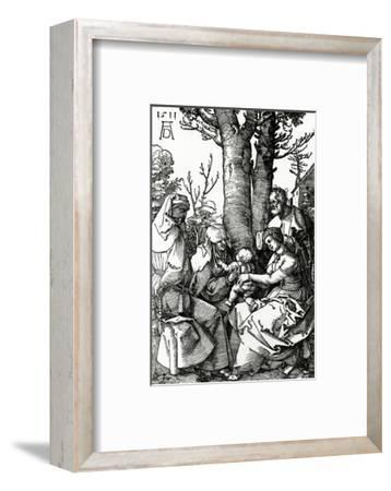 The Holy Family with St. Anne and St. Joachim, 1511 (Woodcut)