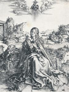 The Holy Family with the Dragonfly, 1495 by Albrecht Dürer