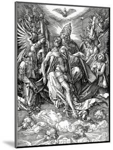 The Holy Trinity, 1511 (Woodcut) by Albrecht Dürer