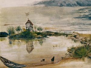 The House at the Pond by Albrecht Dürer