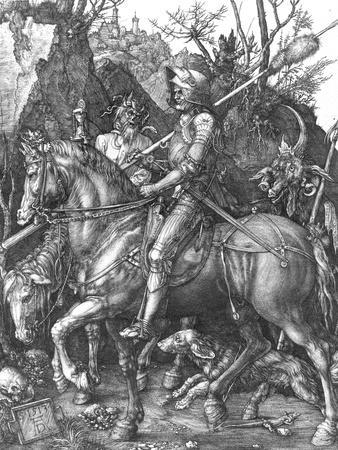 The Knight, Death and The Devil , c.1514
