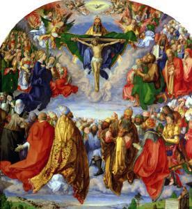The Landauer Altarpiece, All Saints Day, 1511 by Albrecht Dürer