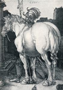 The Large Horse, 1505 by Albrecht Dürer