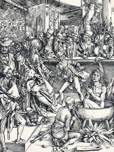 The Martyrdom of St John, 1498 by Albrecht Dürer