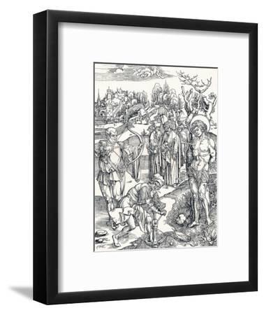 The Martyrdom of St Sebastian, C1495