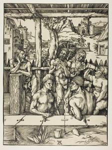 The Mens Bath, 1496-97 by Albrecht Dürer