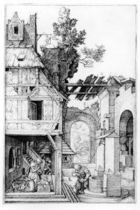 The Nativity, C.1504 (Engraving) by Albrecht Dürer