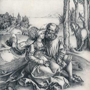 The Offer of Love, 1495 by Albrecht Dürer