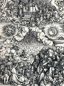 The Opening of the Fifth and Sixth Seals, 1498 by Albrecht Dürer