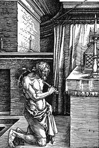 The Penitent, 1510 by Albrecht Dürer
