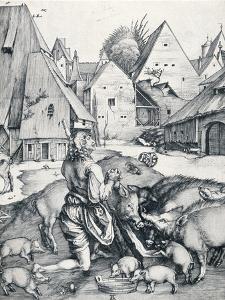 The Prodigal Son, 1495 by Albrecht Dürer
