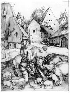 The Prodigal Son, 1496 by Albrecht Dürer
