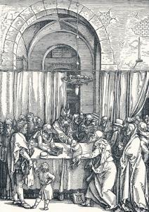 The Rejection of Joachims Offering, 1506 by Albrecht Dürer