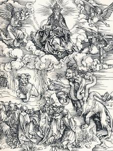 The Seven-Headed Beast and the Beast with Lambs Horns, 1498 by Albrecht Dürer