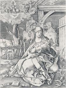 The Virgin by the Gate, 1522 by Albrecht Dürer
