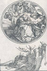 The Virgin Crowned by Two Angels, C1515 by Albrecht Dürer