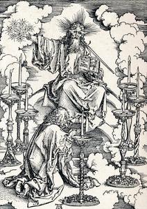 The Vision of the Seven Candlesticks, 1498 by Albrecht Dürer
