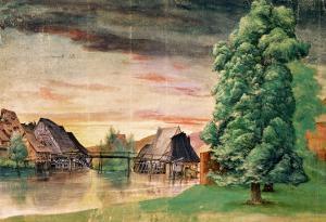 The Watermill, 1495-97 by Albrecht Dürer