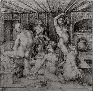 The Women's Bath, 1496 by Albrecht Dürer
