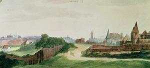 View of Nuremberg, 1496-97 by Albrecht Dürer