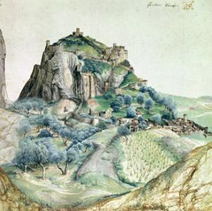 View of the Arco Valley in the Tyrol, 1495 by Albrecht Dürer