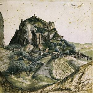 View of the Arco Valley in the Tyrol by Albrecht Dürer