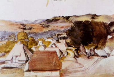 View of the Village Kalchreuth, c.1500
