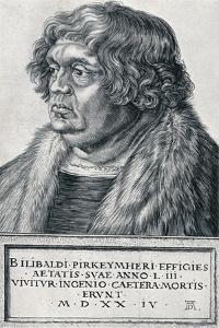 Willibald Pirckheimer, 1524 by Albrecht Dürer
