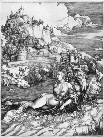 A Sea Monster Bearing Away a Princess, 1500