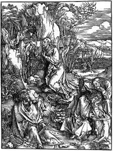 Agony in the Garden, 1498 by Albrecht Durer