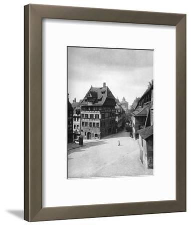 Albrecht Dürer's House, Nuremberg, 1936