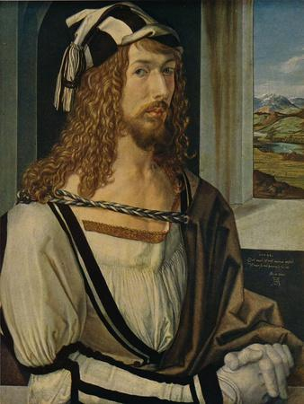 'Autorretrato', (Self-portrait), 1498, (c1934)