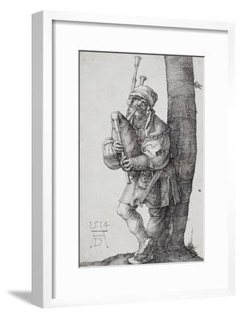 Der Dudelsackpfeifer. 1514