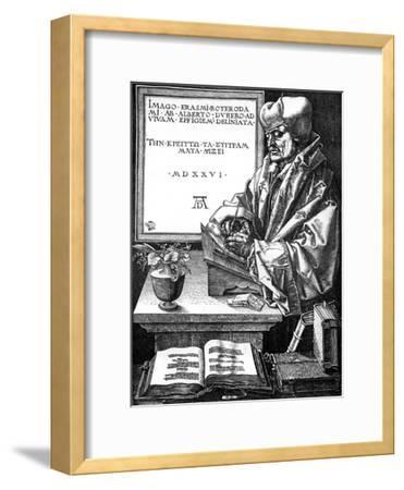 Desiderius Erasmus, Dutch Author, Scholar and Humanist