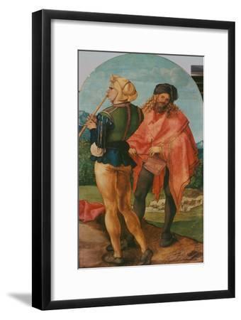 Jabach-Altar: Pfeifer und Trommler. 1503 - 05