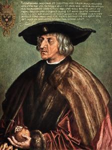 Kaiser Maximilian I, 1519 by Albrecht Durer