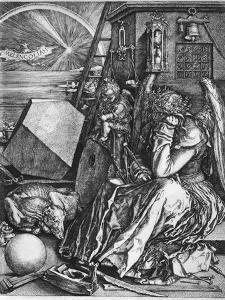 Melancolia, 1514 by Albrecht Durer