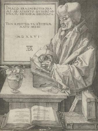 Portrait of Erasmus, 1526