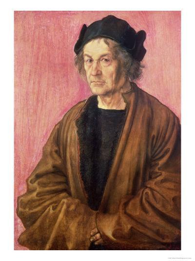 Albrecht Durer's Father, 1497-Albrecht D?rer-Giclee Print
