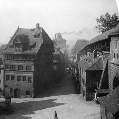 Albrecht Durer's House, Nuremberg, Germany, C1900-Wurthle & Sons-Photographic Print