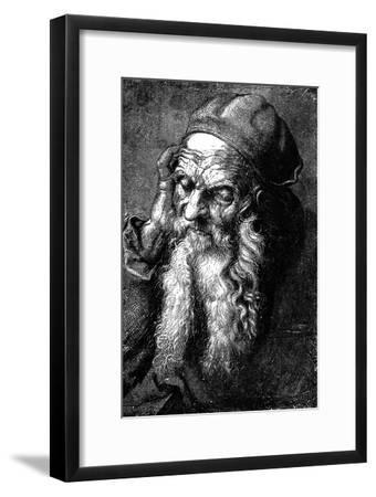 Study of an Old Man, Late 15th - Early 16th Century