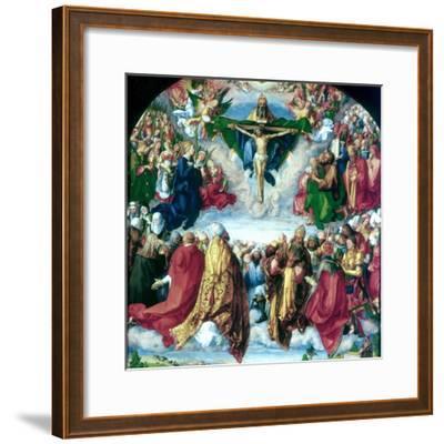 The Adoration of the Trinity (The Landauer Altarpiece), 1511